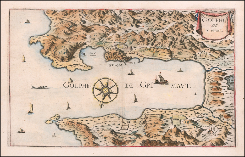 (Gulf of St. Tropez) . Golfe de Grimaut By Anonymous