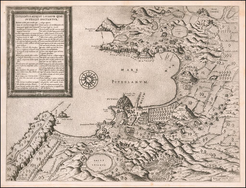 [Pozzoli] Explicatio aliquot locorum quae Puteolis spectantur By Claudio Duchetti / Ambrosio Brambilla