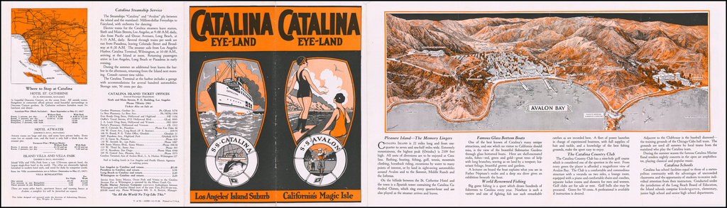 Cataline Eye Land  -- Avalon Bay By Anonymous