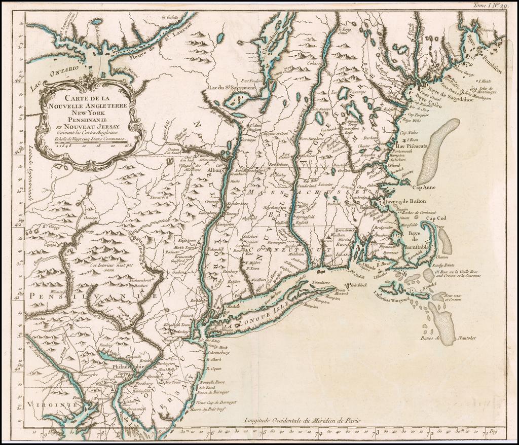 Carte Angleterre Maps.Carte De La Nouvelle Angleterre New York Pensilvanie Et