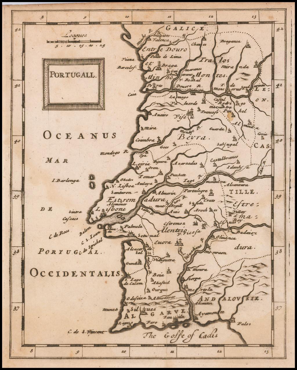 Portugal By Sir Jonas Moore