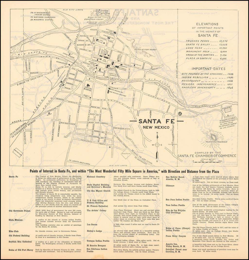 Santa Fe, New Mexico By Santa Fe Chamber of Commerce