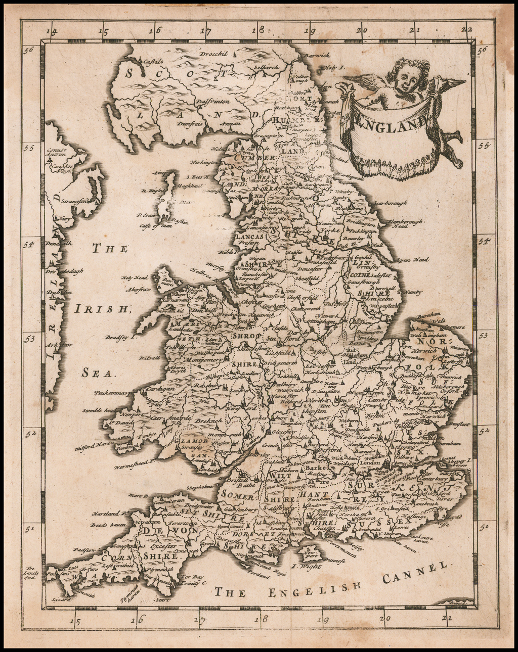 England By Sir Jonas Moore