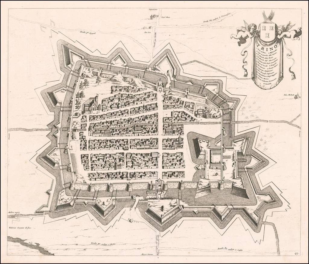 Trino By Johannes et Cornelis Blaeu