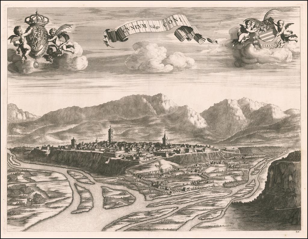 Cuneum By Johannes et Cornelis Blaeu