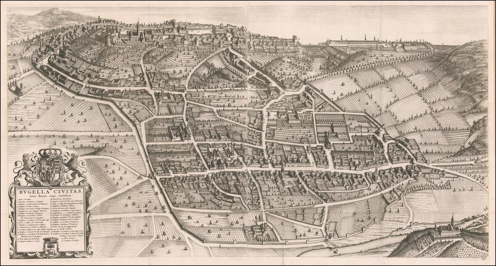 [Biella]  Bugella Civitas By Johannes et Cornelis Blaeu