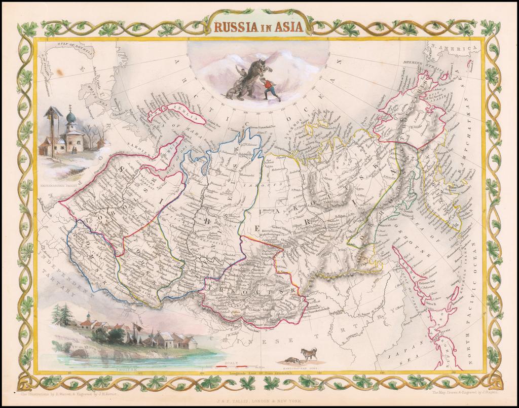 Russia in Asia By John Tallis