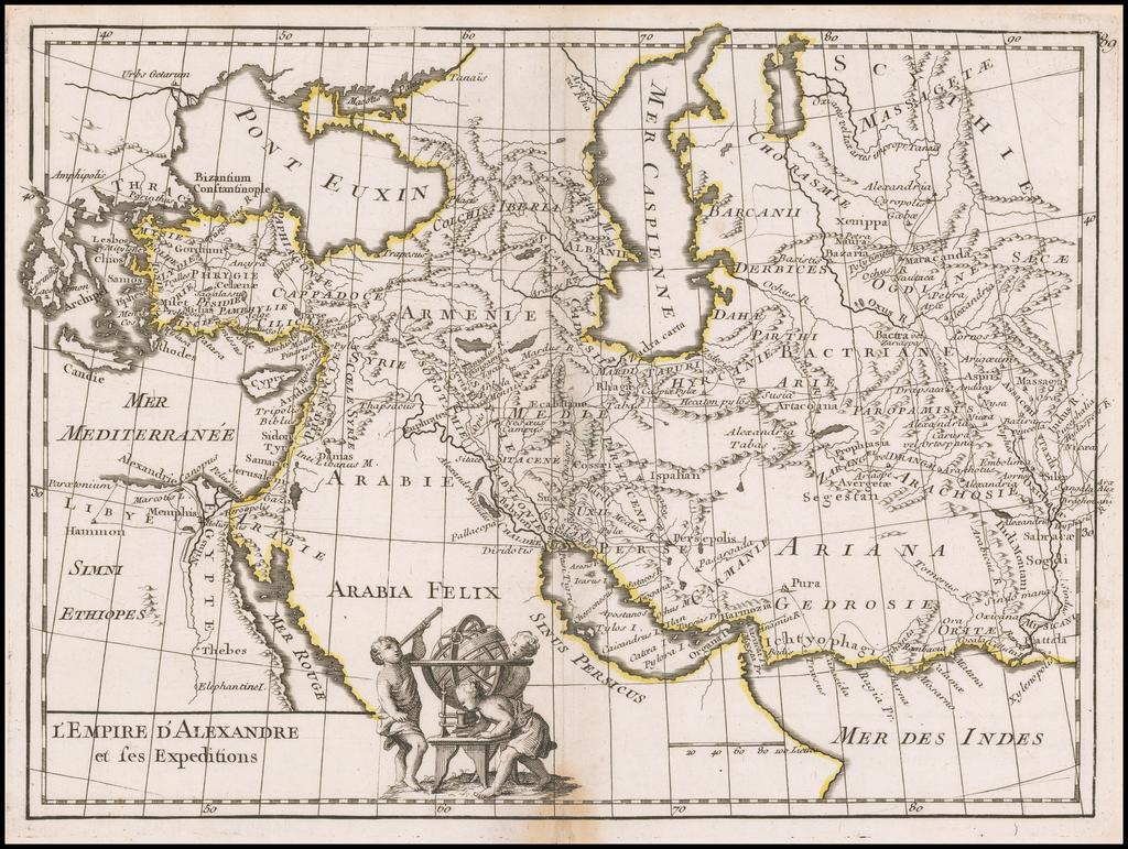 L'Empire D'Alexandre et ses Expeditions By George Louis Le Rouge