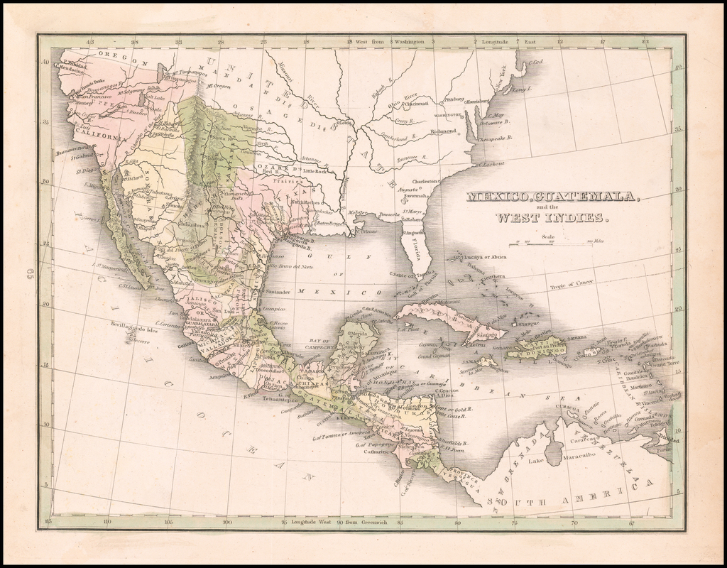 Mexico, Guatemala and the West Indies By Thomas Gamaliel Bradford