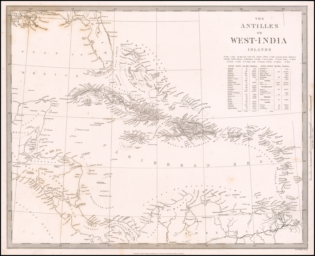 The Antilles or West India Islands By SDUK