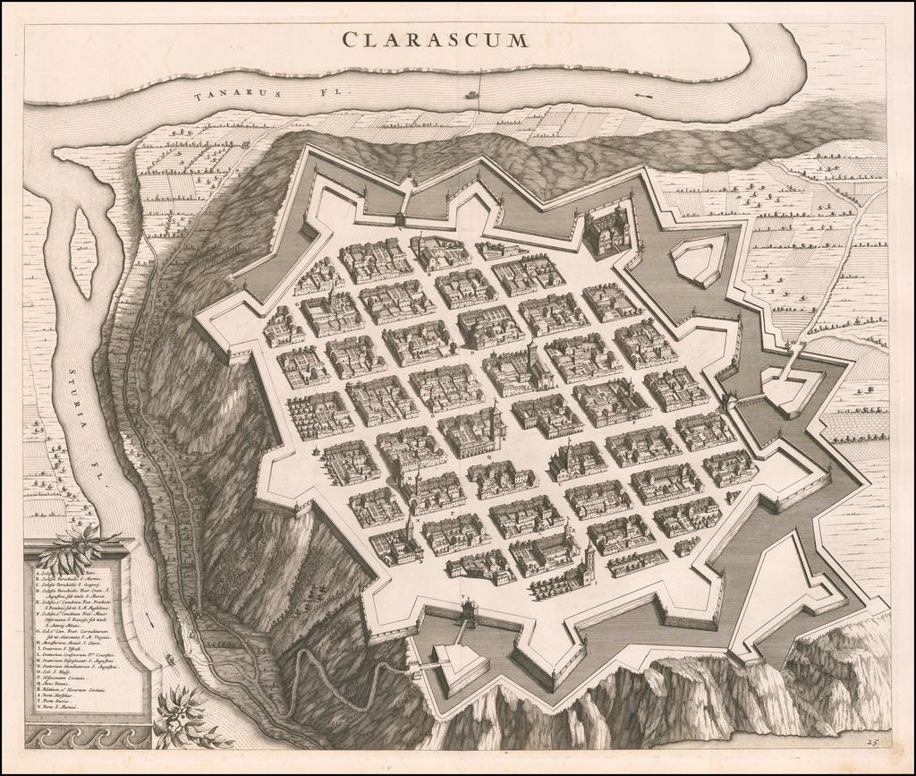 [Cheracsco] Clarascum By Johannes et Cornelis Blaeu