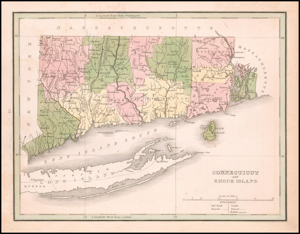 Connecticut and Rhode Island By Thomas Gamaliel Bradford