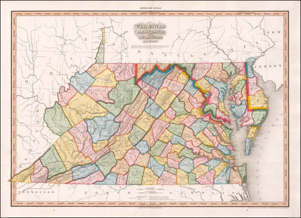 Virginia Maryland & Delaware.  By H.S. Tanner By Henry Schenk Tanner
