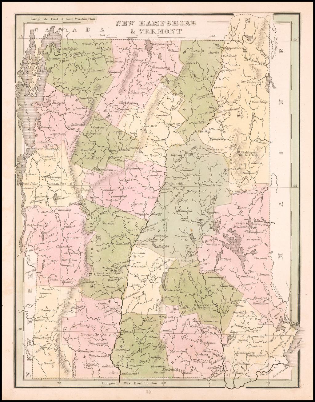 New Hampshire & Vermont By Thomas Gamaliel Bradford