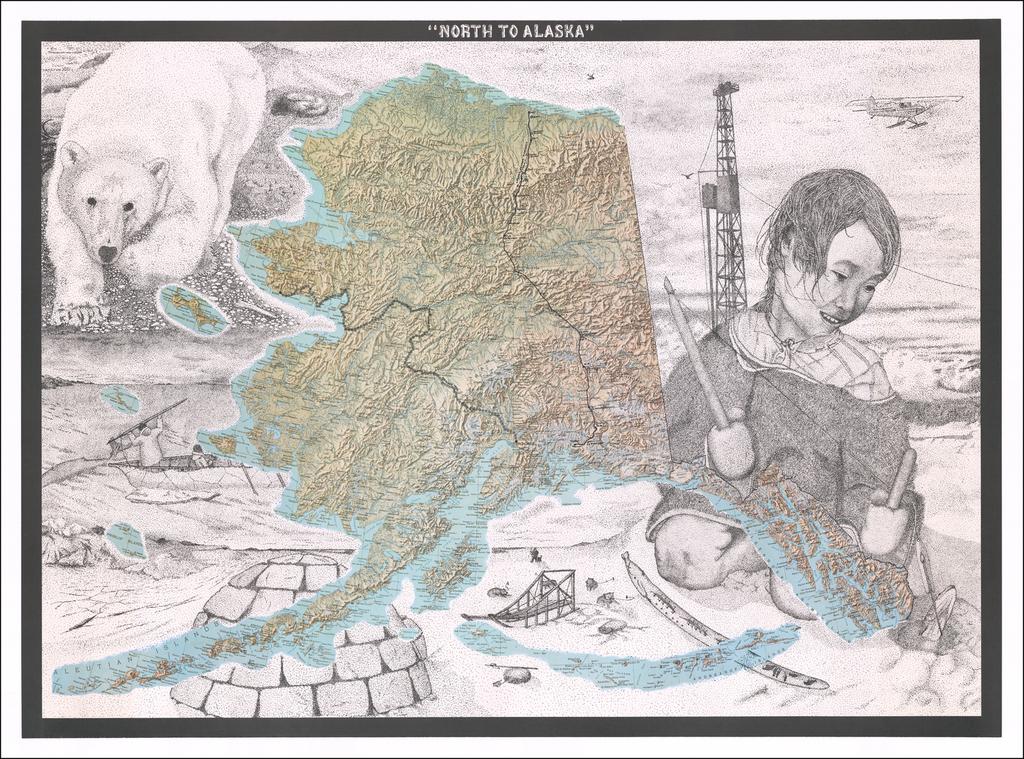 """""""North to Alaska"""" (Iditarod Trail, etc.) By Anonymous"""