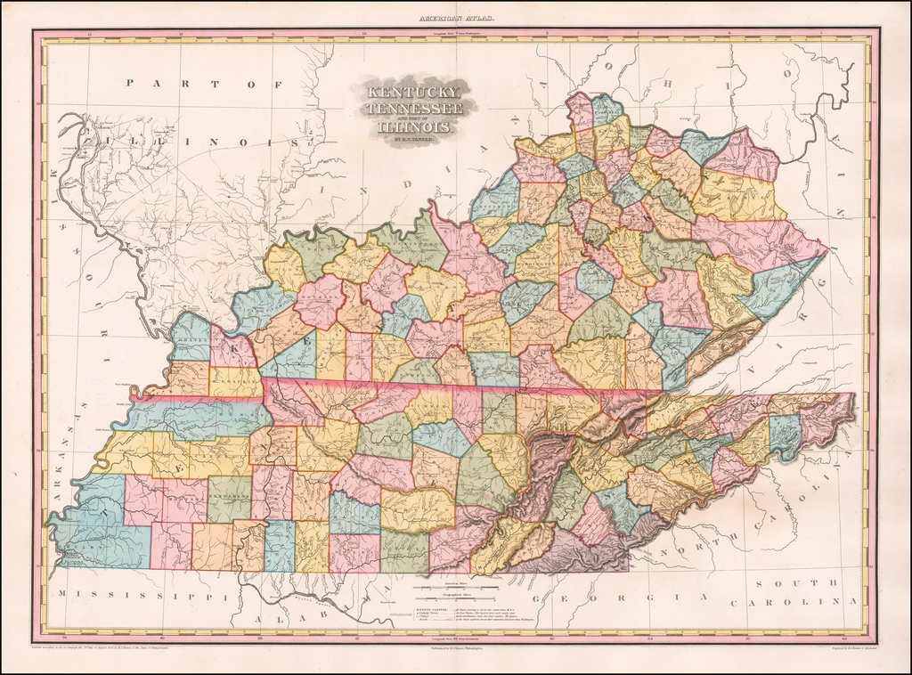 Kentucky, Tennessee and  part of Illinois.  By H.S. Tanner By Henry Schenk Tanner