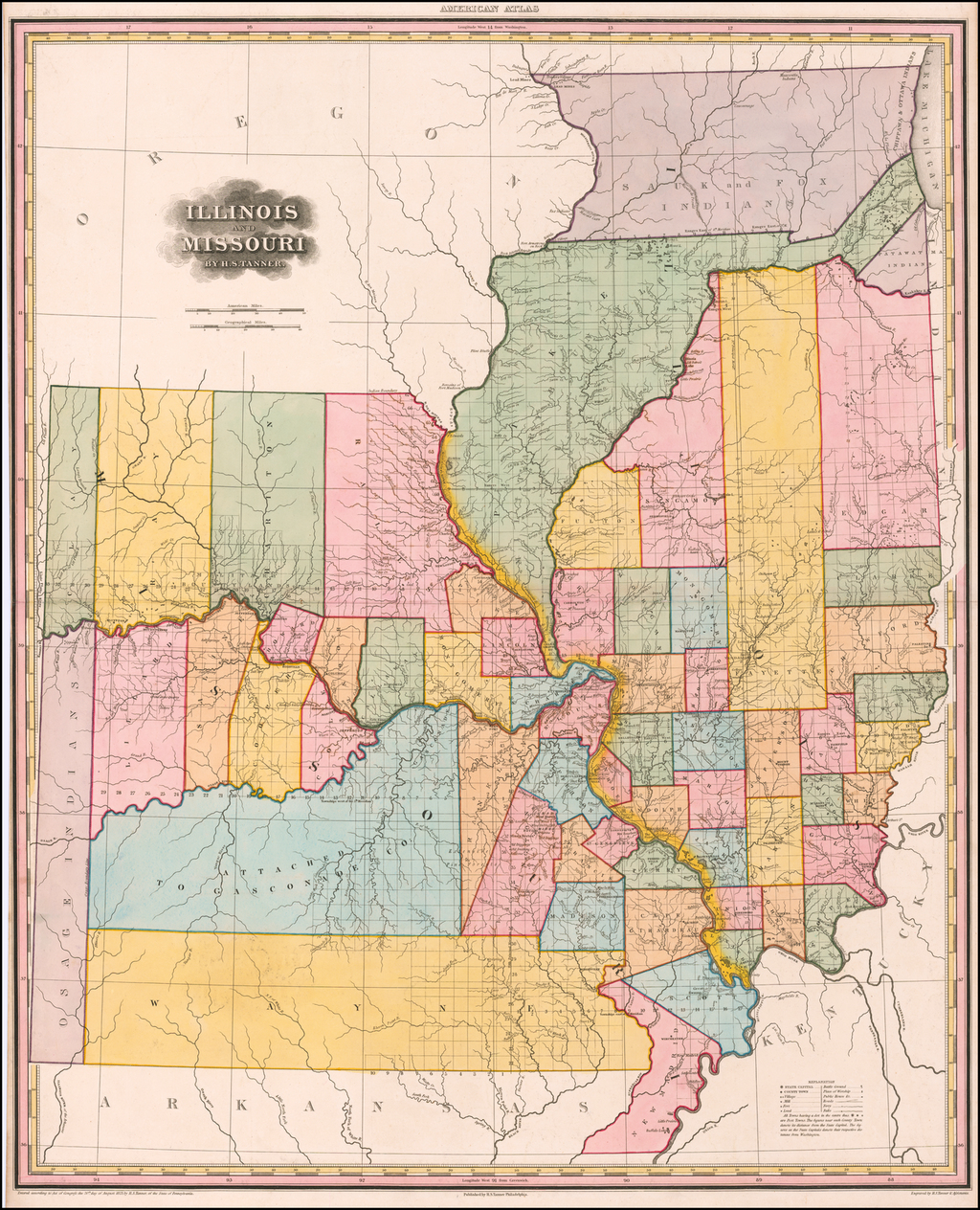 Illinois and Missouri By H.S. Tanner. By Henry Schenk Tanner