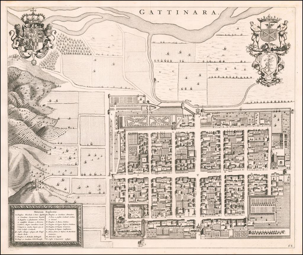 Gattinara By Johannes et Cornelis Blaeu