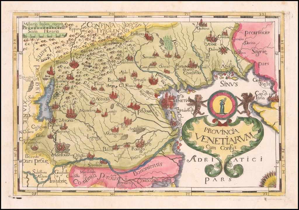 Provincia Venetiarum By Johannes A. Montecalerio