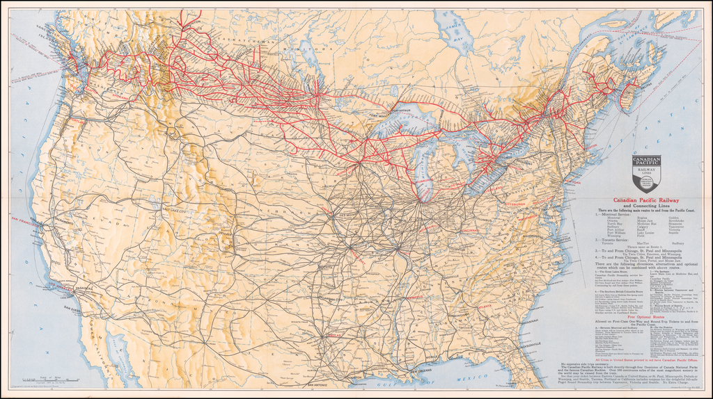 Canadian Pacific Railway and Connecting Lines By Canadian Pacific Railway