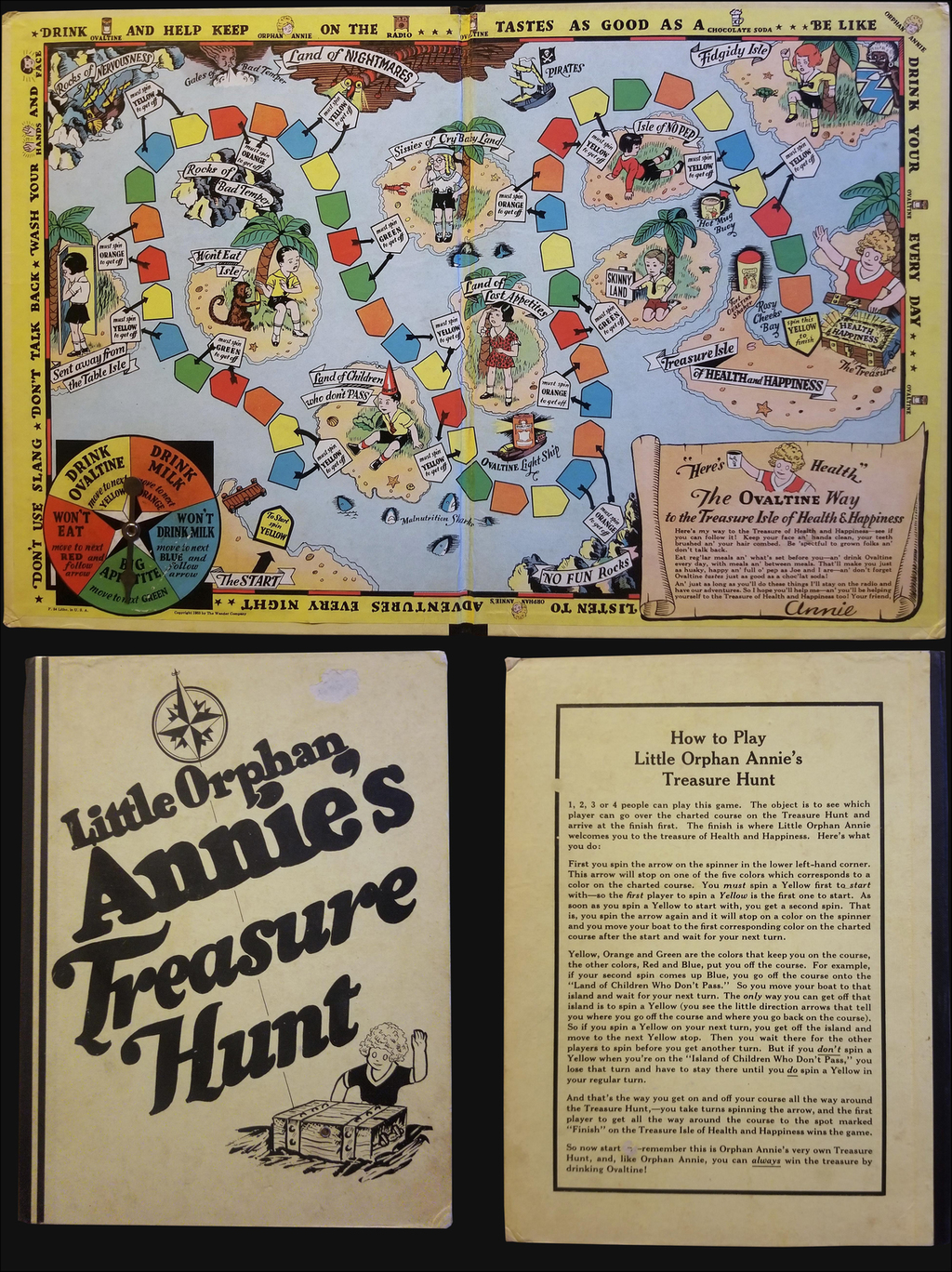 Little Orphan Annie's Treasure Hunt. By Wander Company