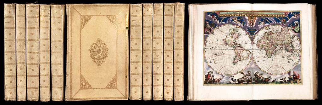 Atlas Major, sive Cosmographia Blaviana, qua solum, salum, coelum accuratissime describuntur. By Johannes Blaeu