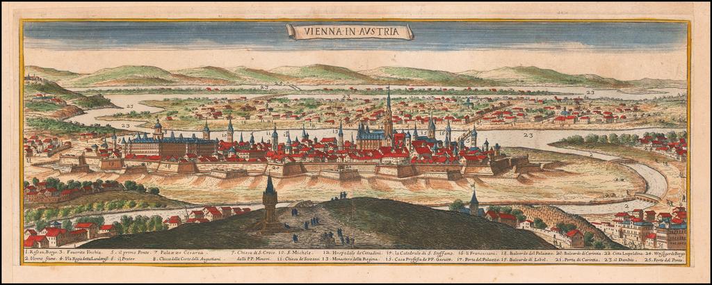 Vienna in Austria By Giacomo Giovanni Rossi