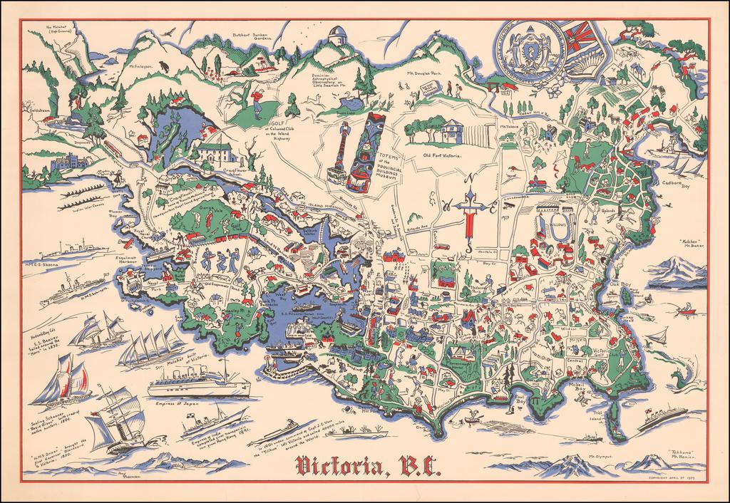 Victoria, B.C.  By Amy Adamson