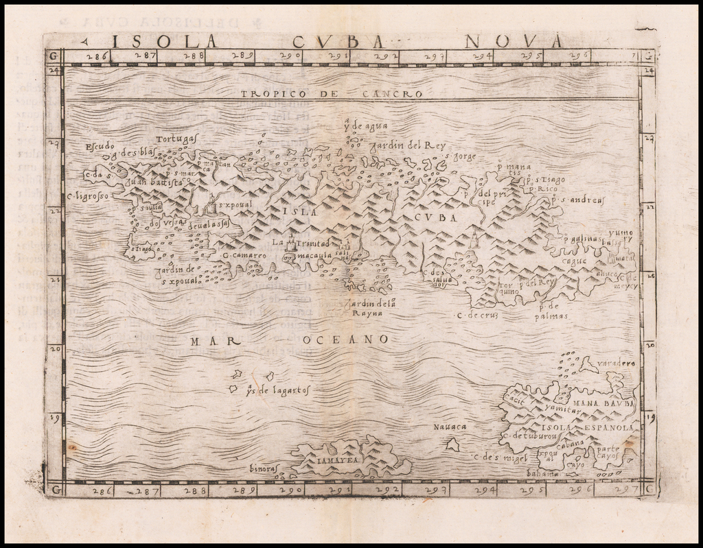 Isola Cuba Nova By Giacomo Gastaldi