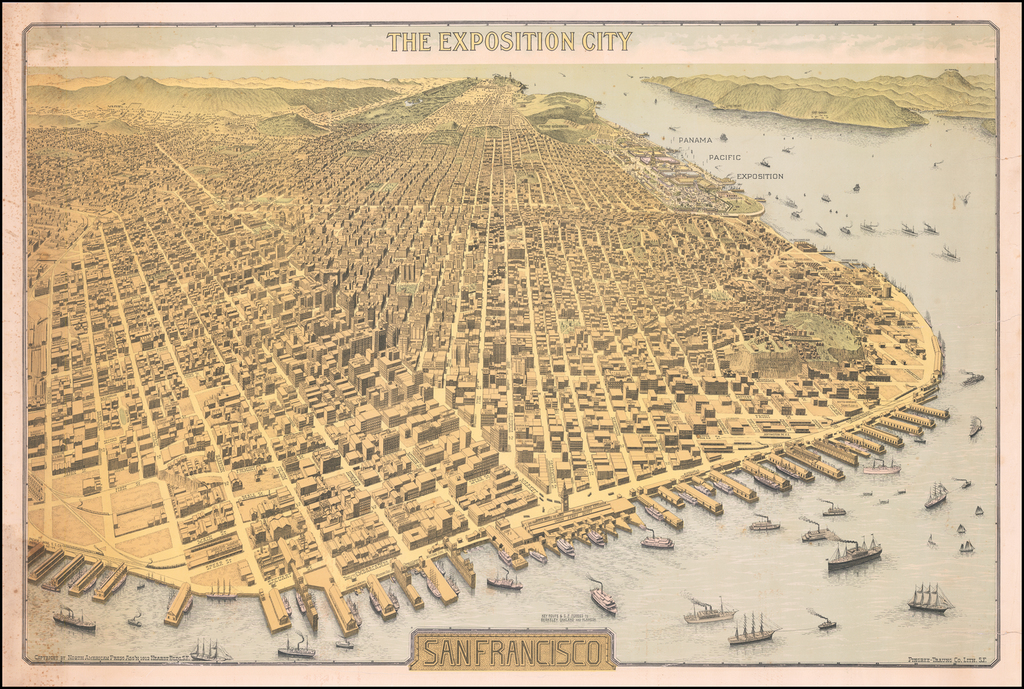 The Exposition City -- San Francisco By North American Press Assn.
