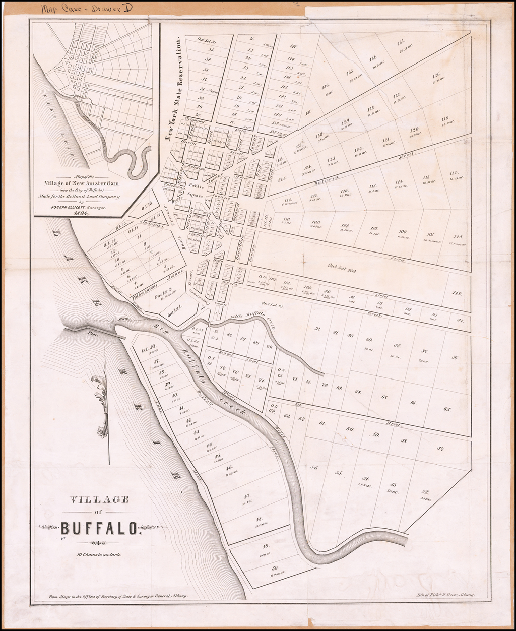 Village of Buffalo By R.H. Pease