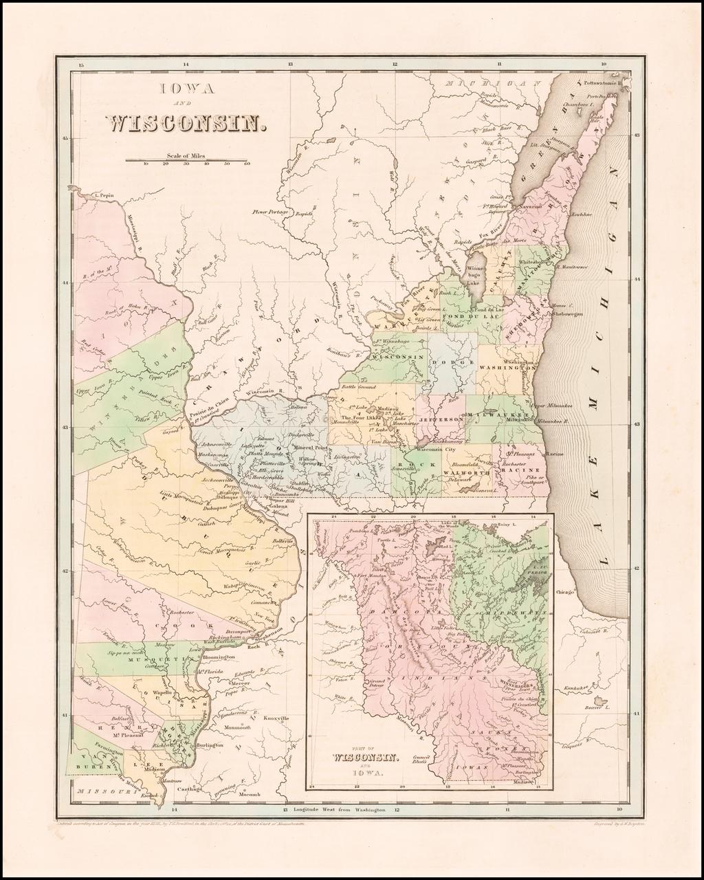 Iowa and Wisconsin  By Thomas Gamaliel Bradford