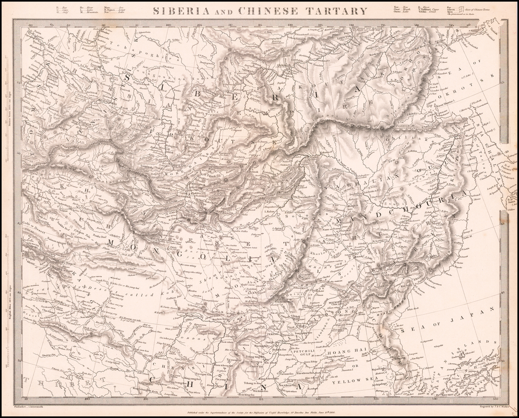 Siberia and Chinese Tartary By SDUK
