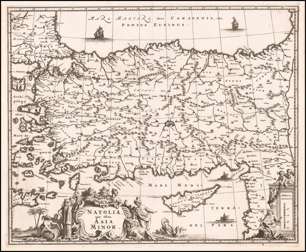 Natolia quae olim Asia Minor By John Ogilby