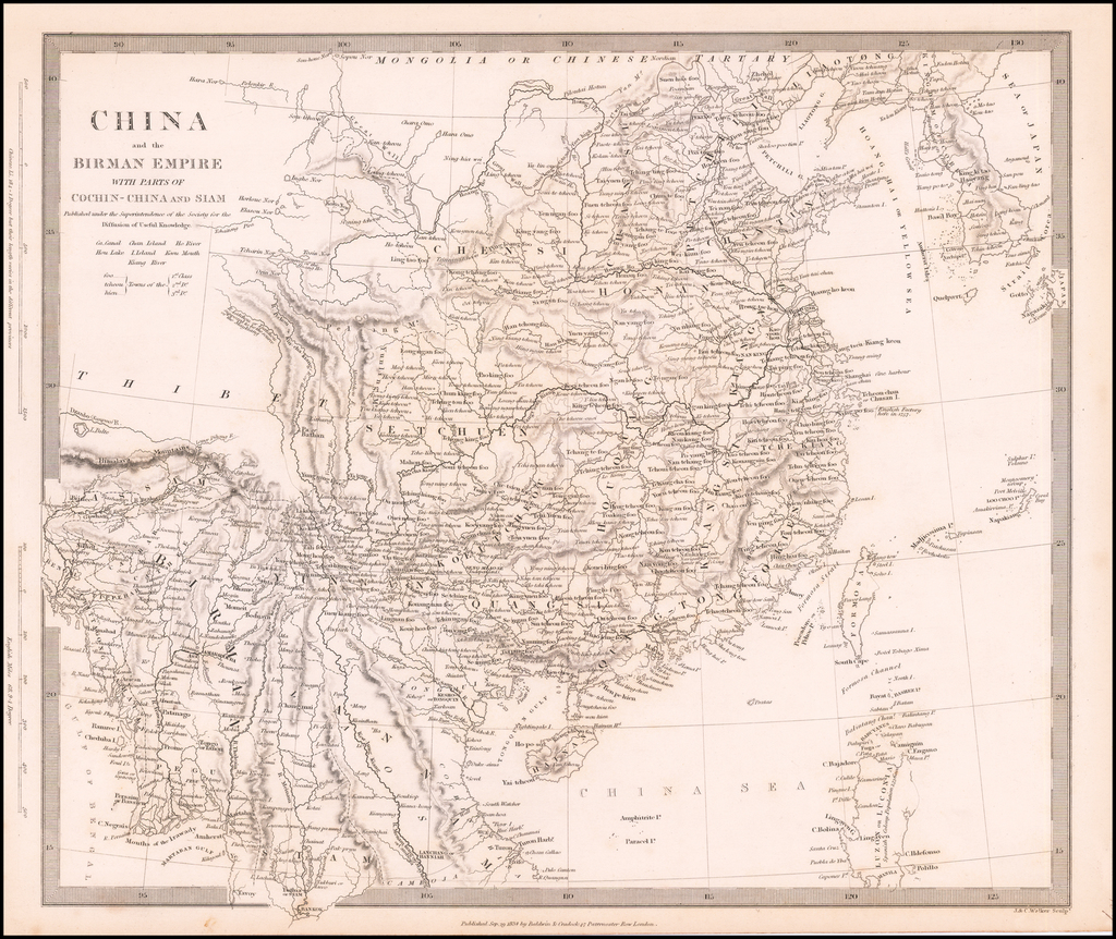 China and the Birman Empire wih parts of Cochin-China and Siam . . . By SDUK