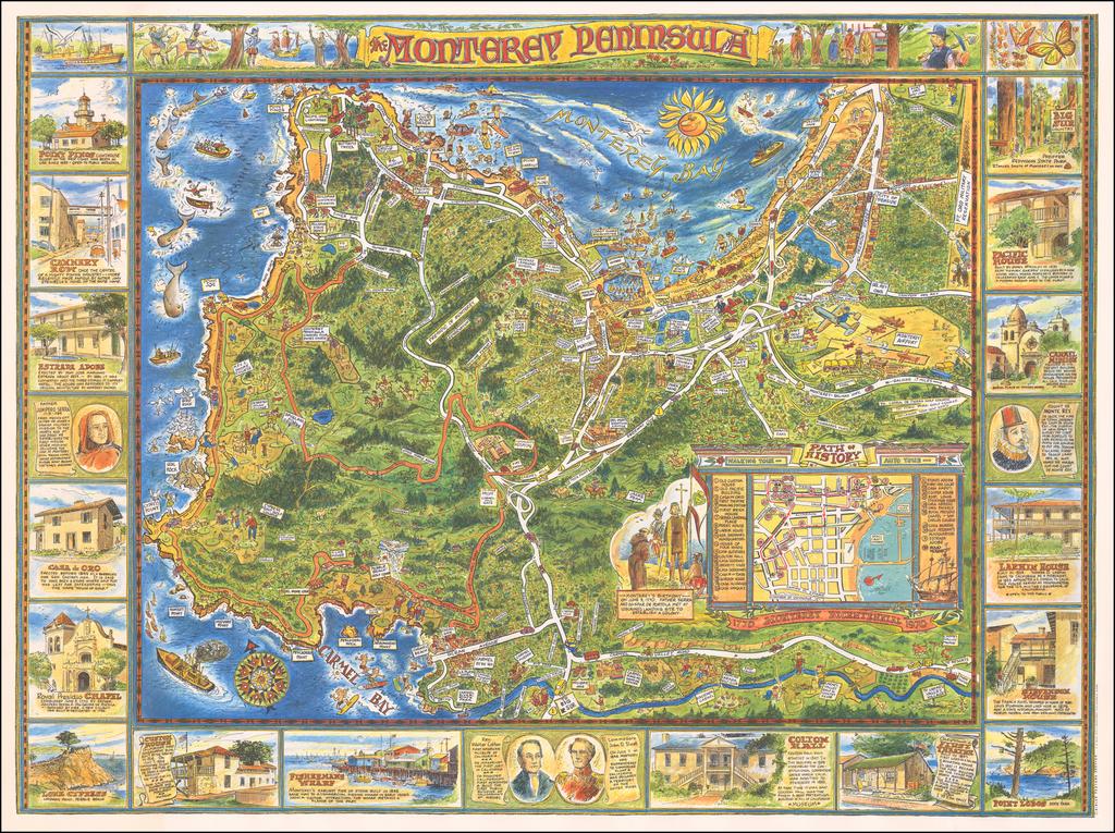 The Monterey Peninsula By Dick Bibler