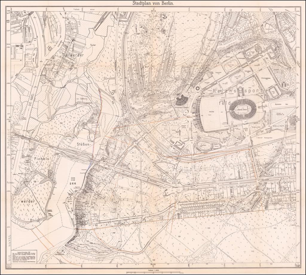 (Berlin-Germania - Albert Speer - Urban Planning in Nazi Germany) Wettbewerb Hochschulstadt Berlin By Albert Speer