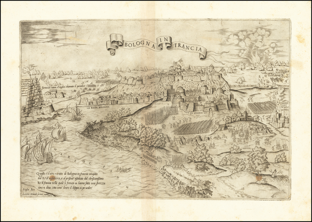 [Boulogne-sur-Mer]  Bologna in Francia By Antonio Salamanca / Giovanni Orlandi
