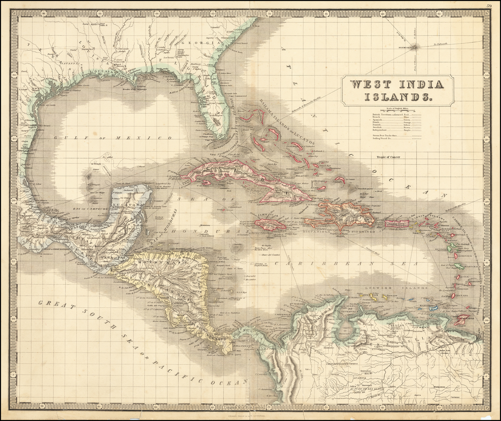 West India Islands By George Philip & Son