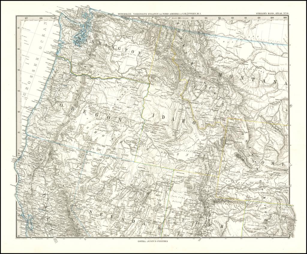 Washington, Oregon, Idaho, Montana, Wyoming - parts of ...