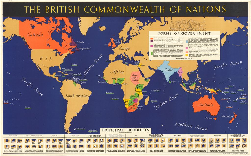 The British Commonwealth of Nations By British Information Services