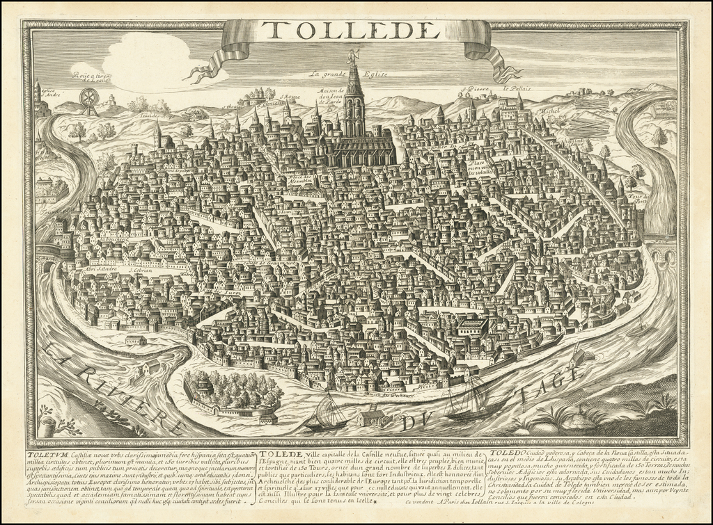 [Toledo] Tollede By Gerard Jollain