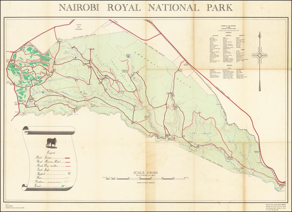 Nairobi Royal National Park By Survey of Nairobi