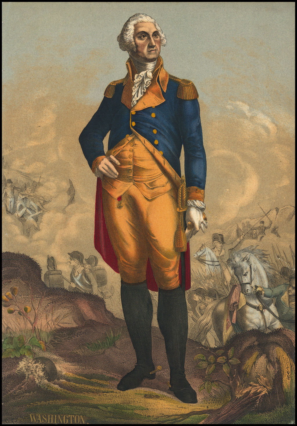 [General George Washington] By Anonymous / John Trumbull
