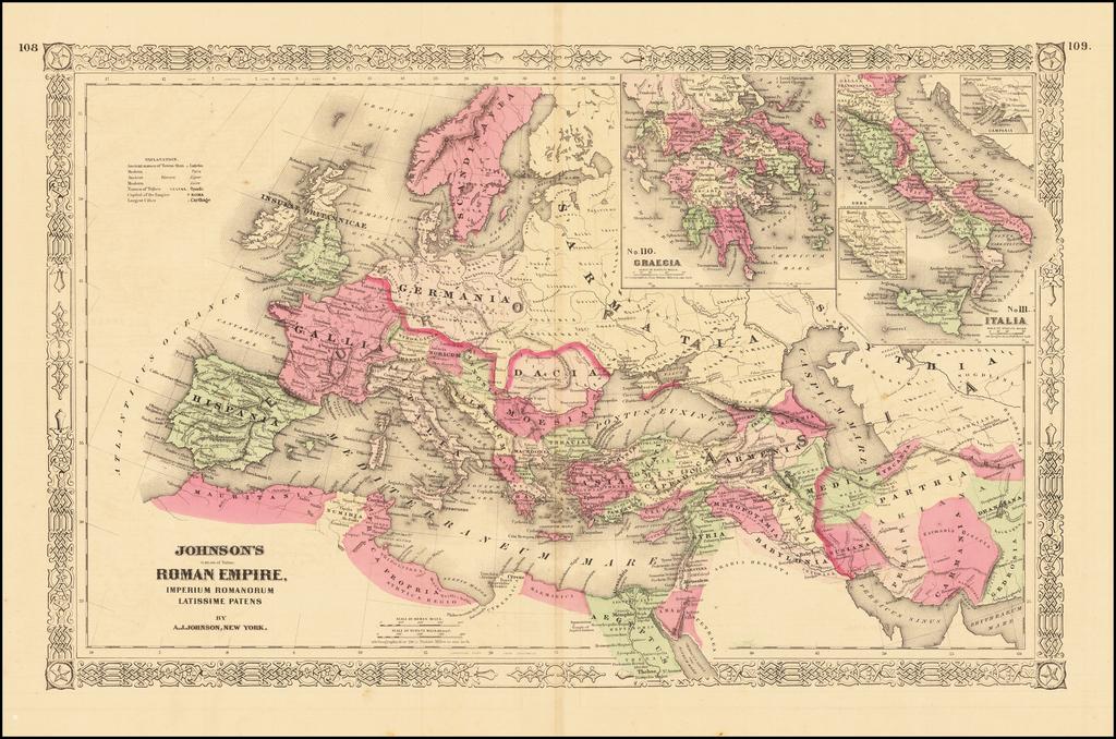 Johnson's Roman Empire By Alvin Jewett Johnson