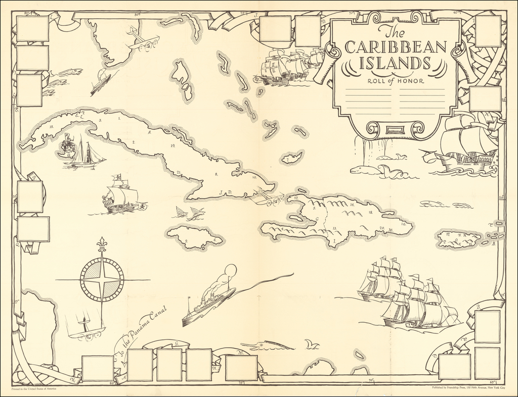 The Caribbean Islands . . .  By Dr. Gilbert Q. LeSourd