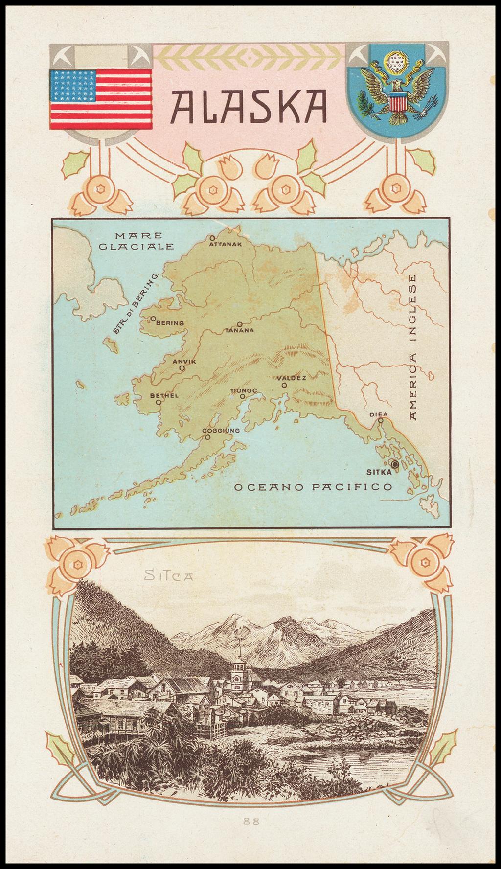 Alaska - Barry Lawrence Ruderman Antique Maps Inc