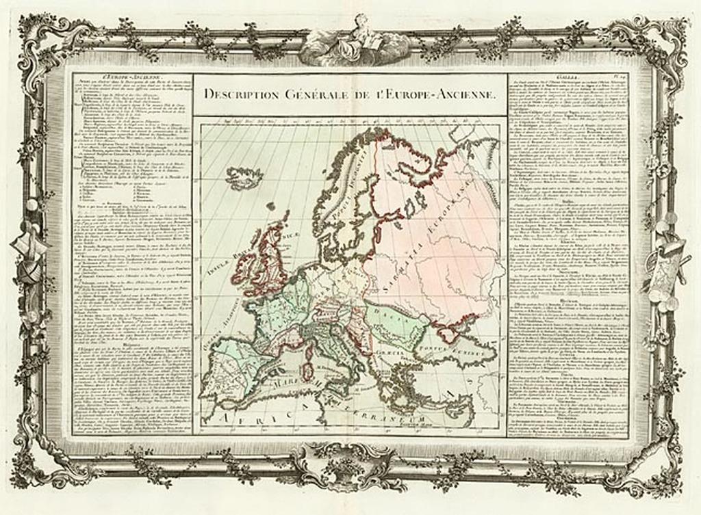 Description Générale De L'Europe-Ancienne By Buy de Mornas