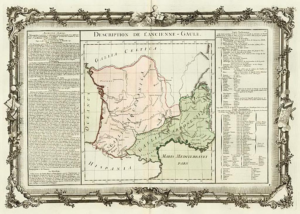 Description De L'Ancienne-Gaule By Buy de Mornas