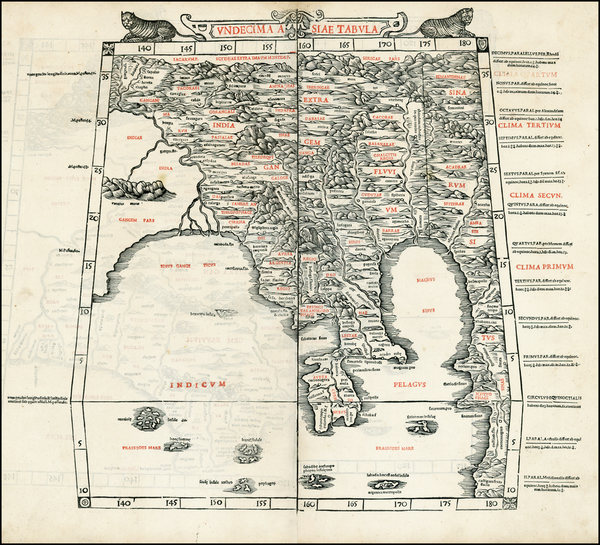 12-Indian Ocean, China, India, Southeast Asia, Other Islands and Central Asia & Caucasus Map B